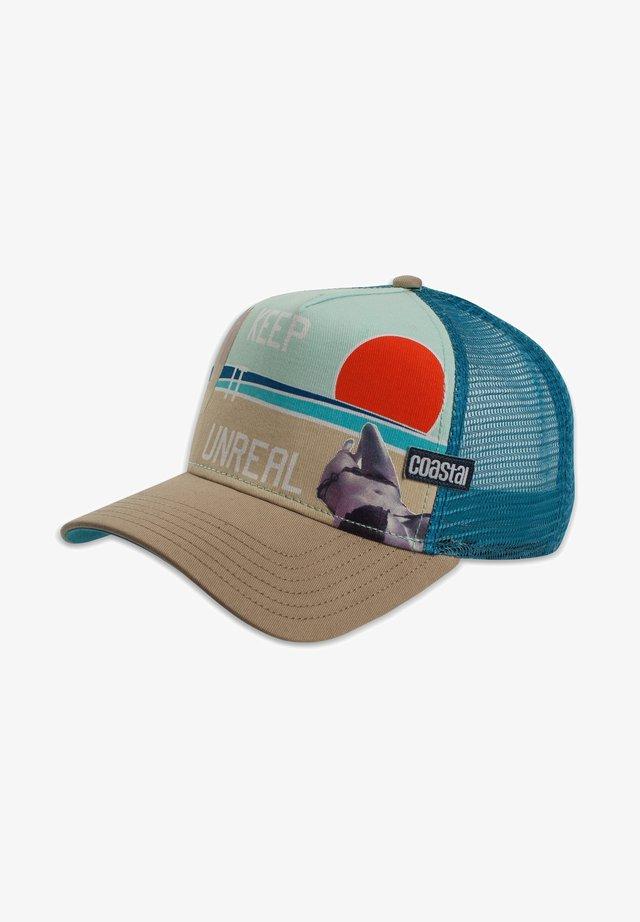 COASTAL KOPFBEDECKUNG TRUCKER CAP HFT UNREAL - Cappellino - khaki