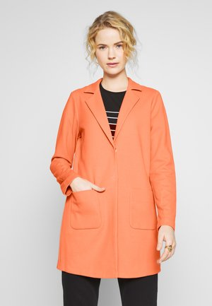 HELEN STRUCTURE - Short coat - fresh coral