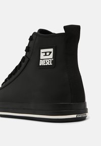 Diesel - S-ASTICO MID CUT - Vysoké tenisky - black - 4