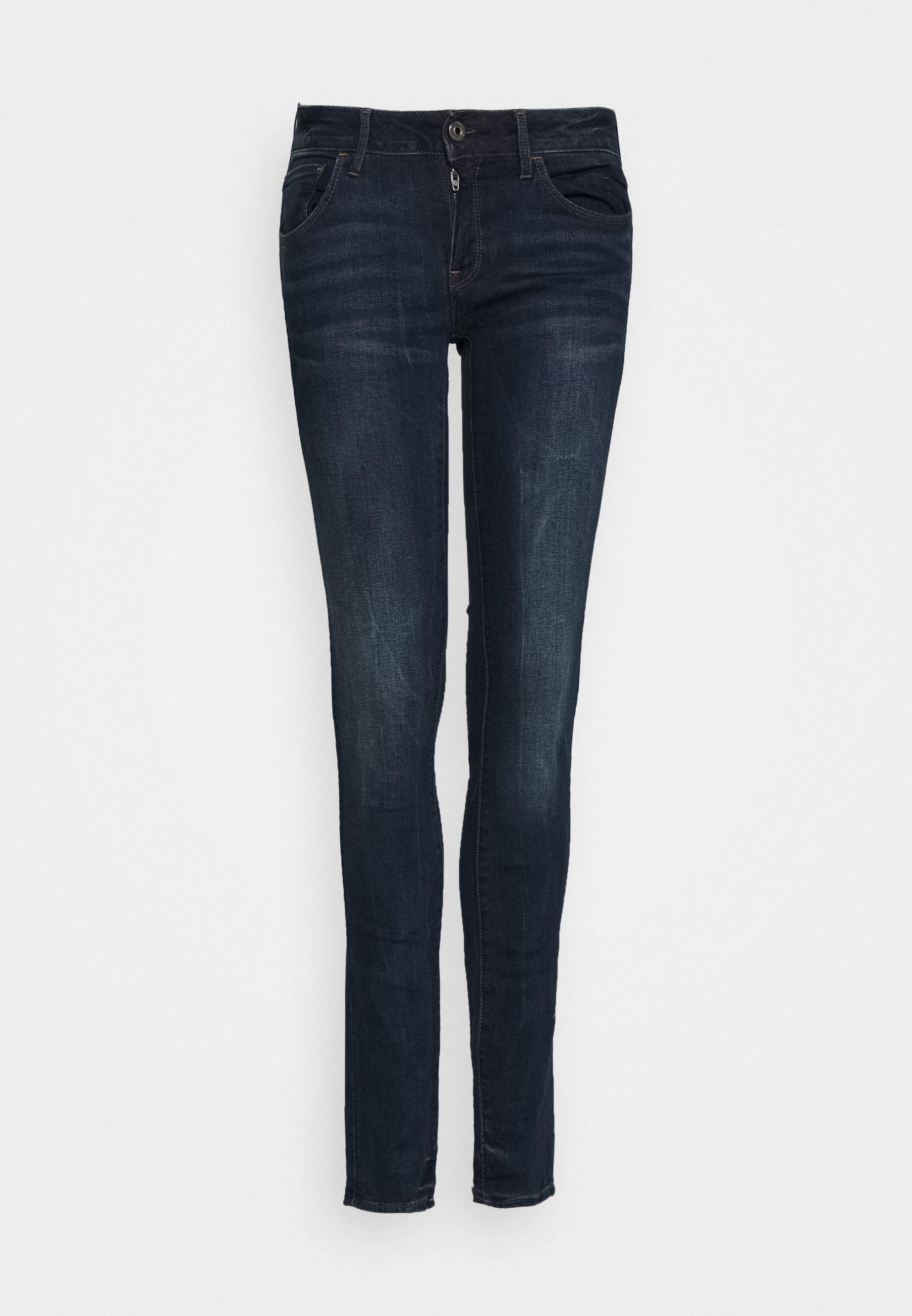 Women 3301 DECONST MID SKINNY WMN - Jeans Skinny Fit