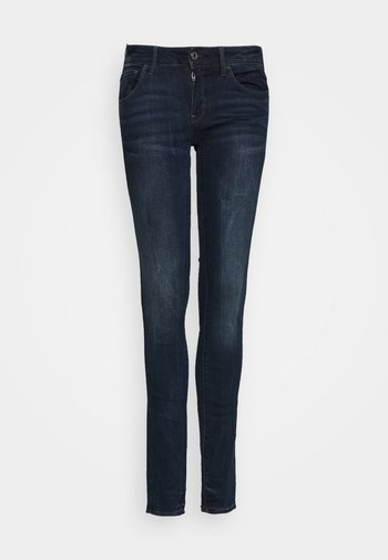 3301 DECONST MID SKINNY WMN - Jeans Skinny Fit - dark aged