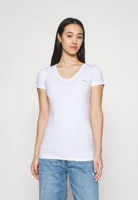 Pepe Jeans - BEA 2 PACK - Basic T-shirt - black/white - 1