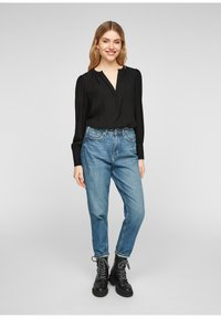 QS by s.Oliver - Blouse - black - 1