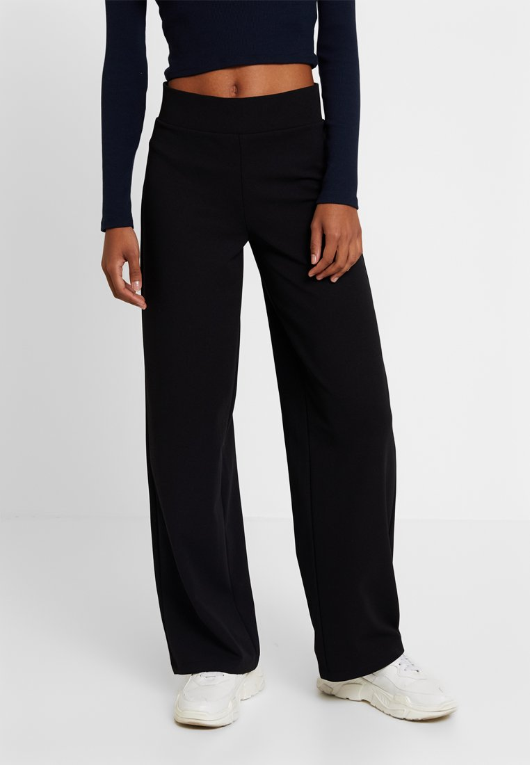 Gina Tricot - JENNER TROUSERS - Trousers - black