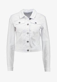 Noisy May - NMDEBRA - Denim jacket - bright white - 3