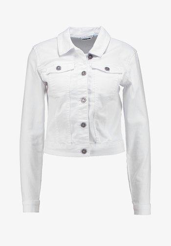 NMDEBRA - Denim jacket - bright white
