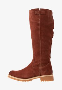 s.Oliver - Winter boots - cognac - 1