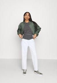 Even&Odd - Long sleeved top - black/white - 1
