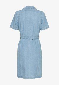 Leon & Harper - REMEMBER BLEACH - Day dress - blue - 1