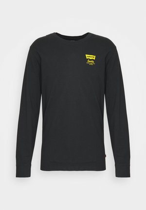 RELAXED FIT TEE UNISEX - Longsleeve - jet black