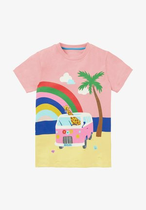 MIT SZENENMOTIV - Print T-shirt - provence altrosa wohnmobil