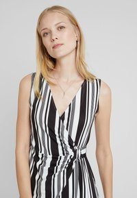 Anna Field - Shift dress - white/black - 3