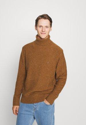 DONEGAL ROLL NECK - Jumper - highland khaki