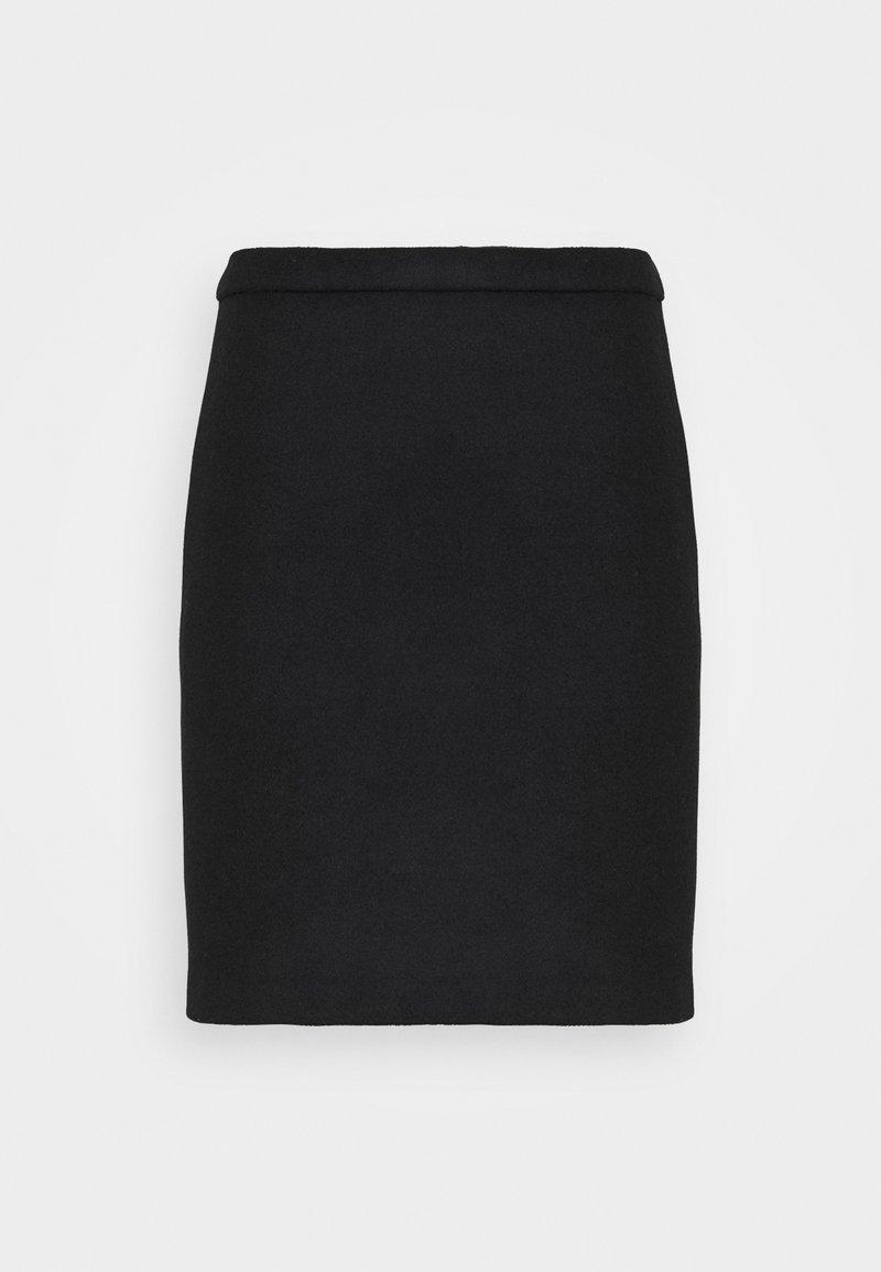 Esprit Collection - SKIRT - Mini skirt - black