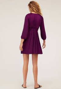 OYSHO - Day dress - dark purple - 2