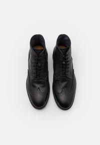 Hudson London - ANDERSON - Bottines à lacets - black - 3