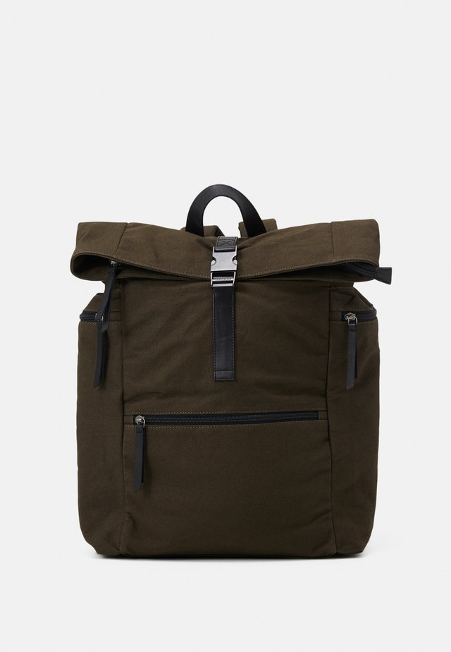 ZAC ROLL TOP BACKPACK UNISEX - Reppu - khaki
