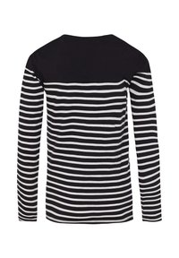 WE Fashion - T-shirt à manches longues - black/white - 1