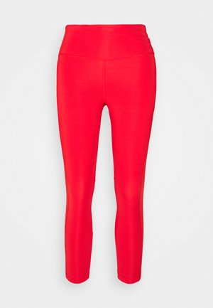 EPIC FAST CROP - Leggings - chile red