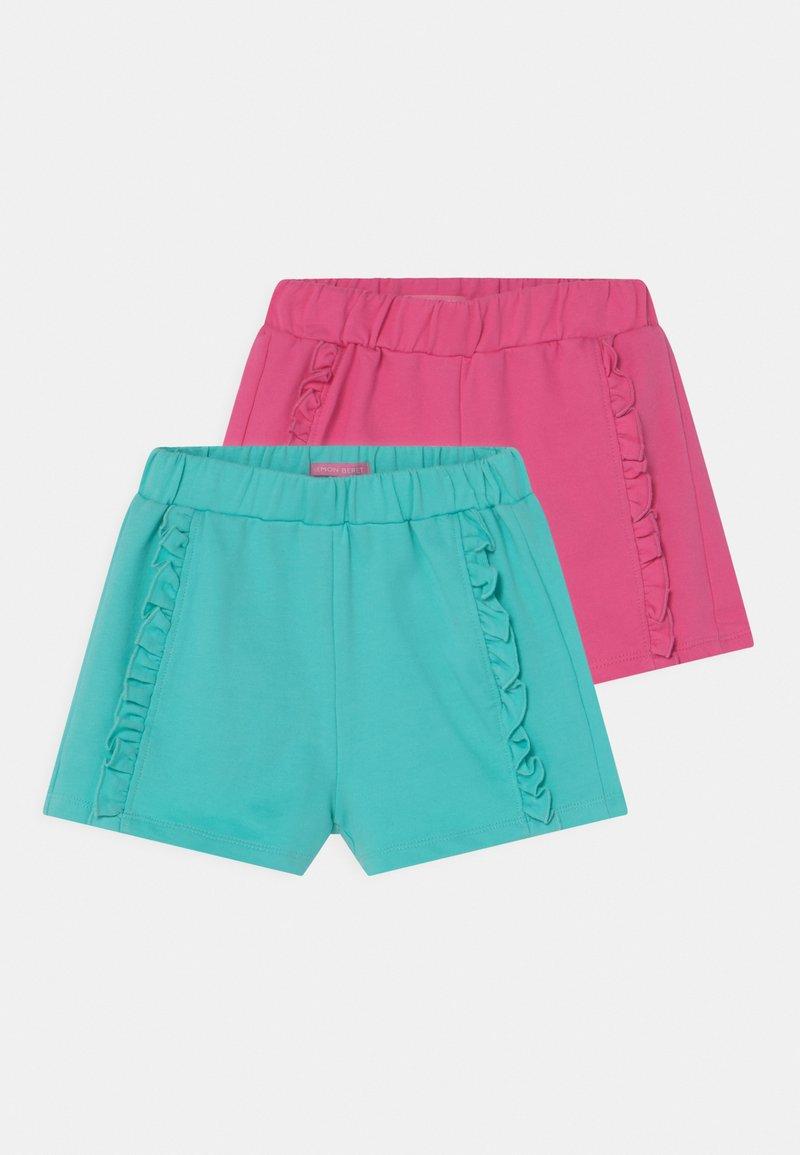 Lemon Beret - SMALL GIRLS 2 PACK - Shorts - azalea pink