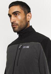 Regatta - FELLARD - Fleece jacket - magnet/black - 3