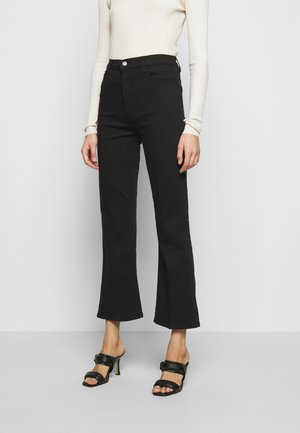 JULIA HIGH RISE - Flared Jeans - black
