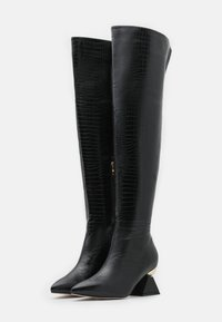 RAID Wide Fit - WIDE FIT SPIRAL - Over-the-knee boots - black - 2