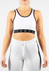 MOROTAI - NAKA  - Sports bra - white - 0