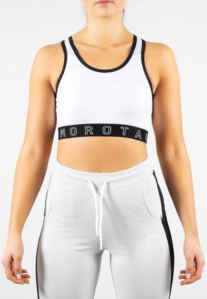 NAKA  - Sports bra - white