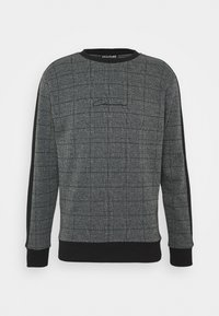 CLOSURE London - CHECKED CREWNECK - Bluza - black - 4