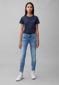 Marc O'Polo - LULEA  - Slim fit jeans - blue softwear wash - 1