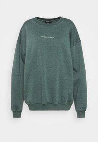 Missguided Tall - WASHED  - Sweatshirt - green - 0