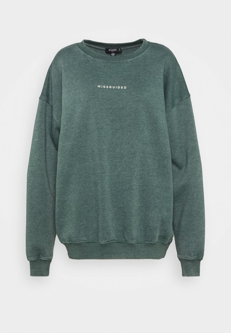 Missguided Tall - WASHED  - Sweatshirt - green