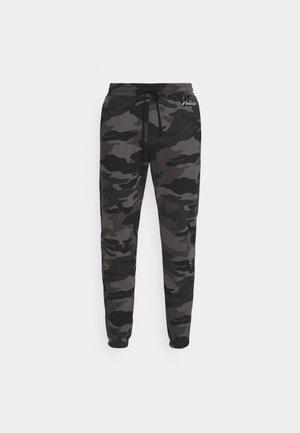 Træningsbukser - trad camo black