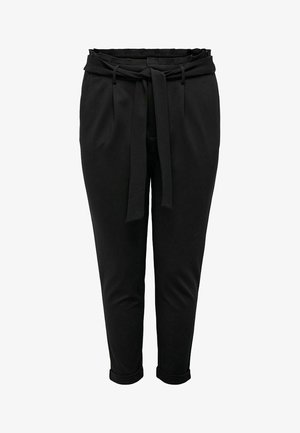 PAPERBAG - Trousers - black