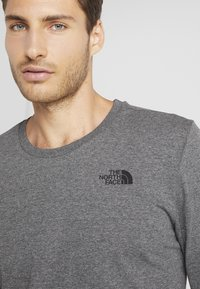 The North Face - SIMPLE DOME - Long sleeved top - medium grey heather - 3