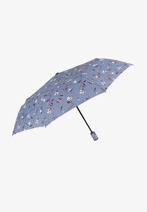 COMPACT UMBRELLA WITH FLOWERS - Umbrella - blu fiordaliso