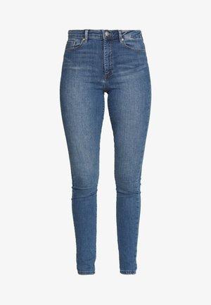 VMSOPHIA SKINNY TALL - Skinny džíny - light blue denim