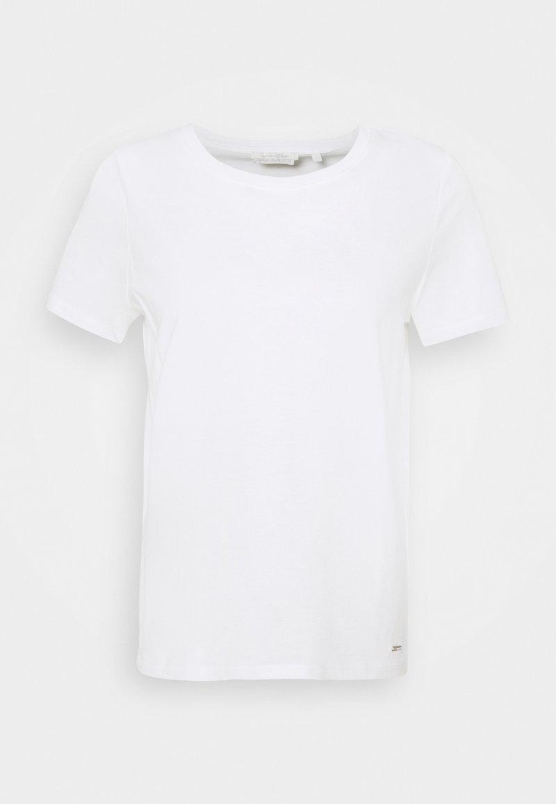 TOM TAILOR DENIM - Basic T-shirt - off white