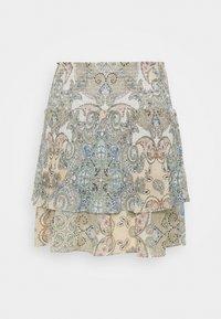 ONLY - ONLALLY SMOCK LAYERED SKIRT - Mini skirt - kalamata/desert - 6