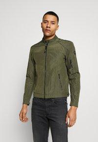 Replay - JACKET - Summer jacket - dark military - 0