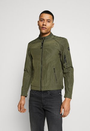 JACKET - Summer jacket - dark military