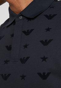 Emporio Armani - Polo shirt - blu navy - 4
