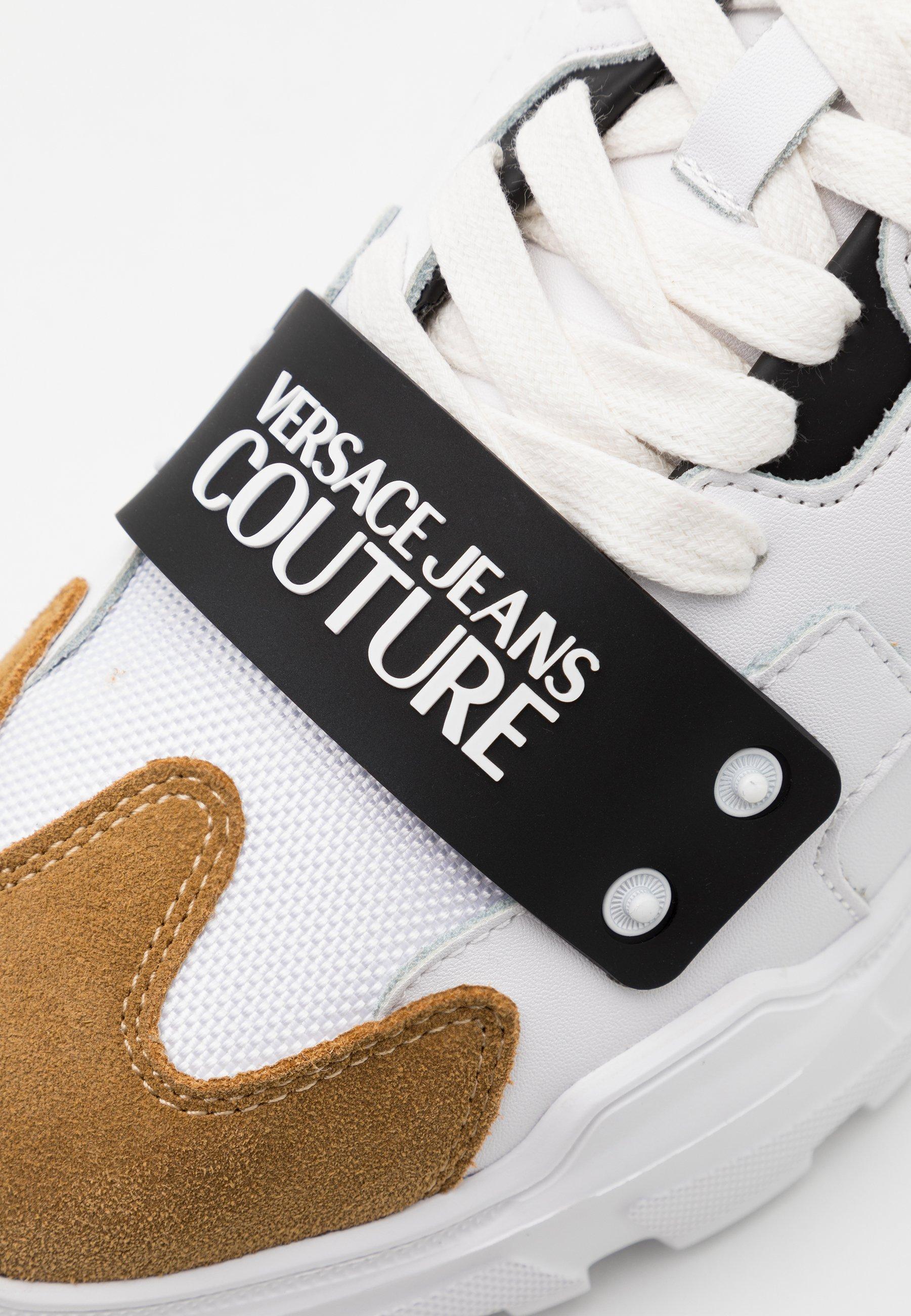 Versace Jeans Couture Baskets basses white ZALANDO.FR