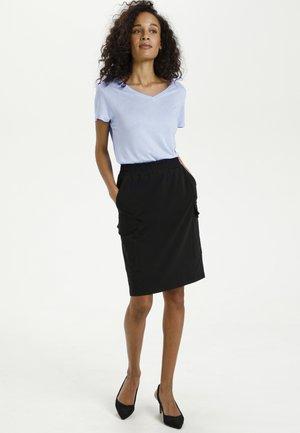 ANNA  - Basic T-shirt - chambray blue