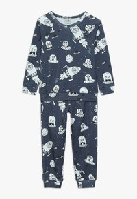 igi natur - BOYS - Nachtwäsche Set - dark blue - 0