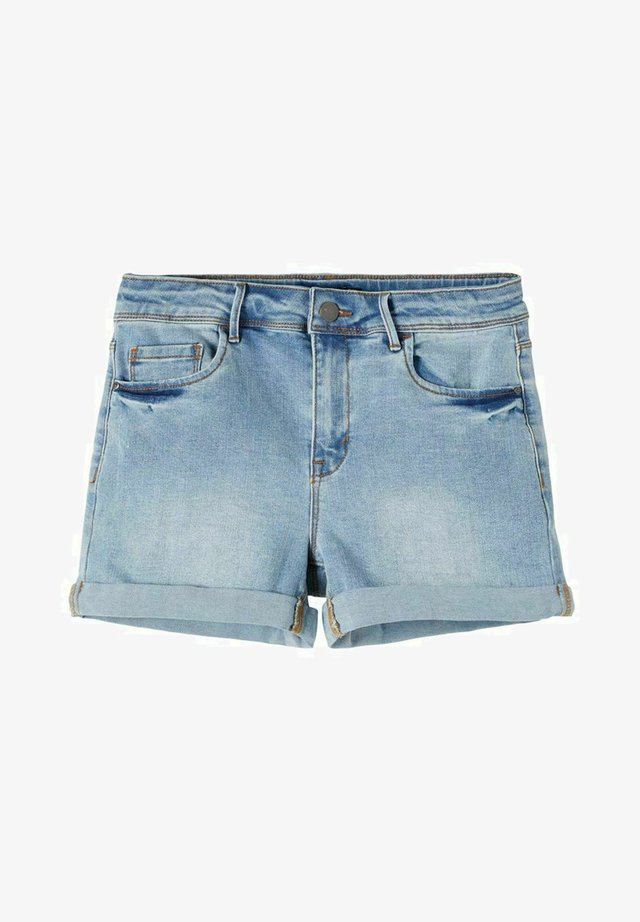 Jeansshort - light blue denim