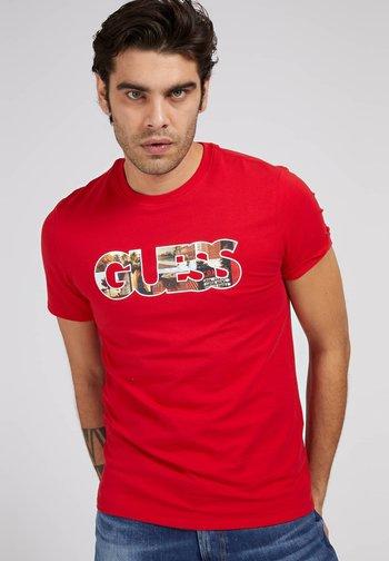 PHOTOSHOW  - Print T-shirt - rot