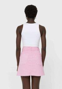 Stradivarius - Mini skirt - pink - 2
