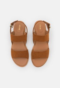 Clarks - KARSEA STRAP - Sandals - tan - 5